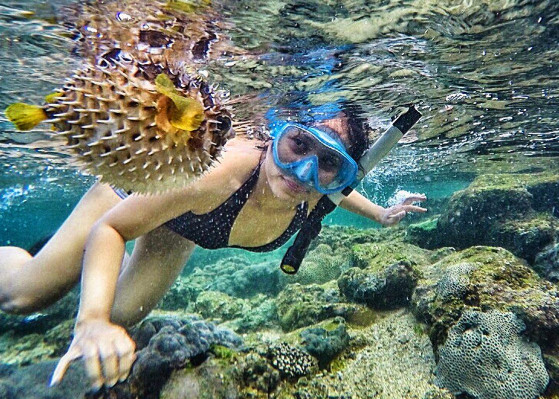 Snorkling Pantai Nglambor