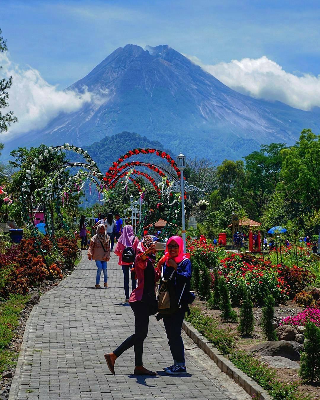 5 View Merapi terbaik dari Tempat Wisata di Jogja