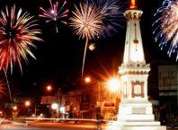 Pesta Kembang Api Tahun Baru Jogja