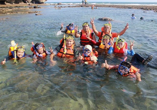 Snorkeling Di Pantai Slili Gunung Kidul